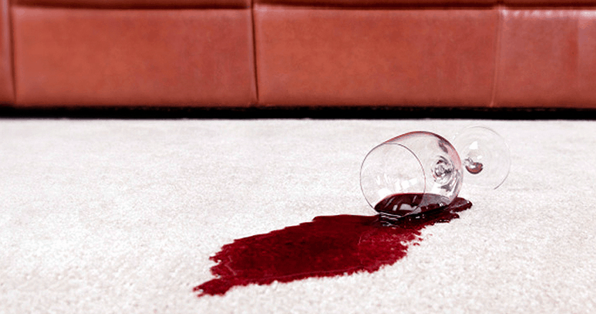 How to Get Red Wine Out of Your Carpets